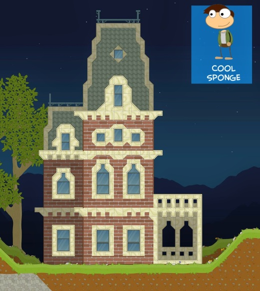 From Cool Sponge, here's a Victorian-style mansion that looks like an absolutely gorgeous place to live, provided the Bates Motel is not located just down the hill.