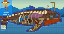 From Golden Lobster, a dream home of biblical proportions -- inside the belly of a whale!