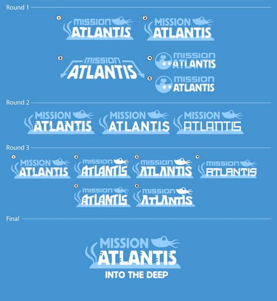 mission atlantis logos