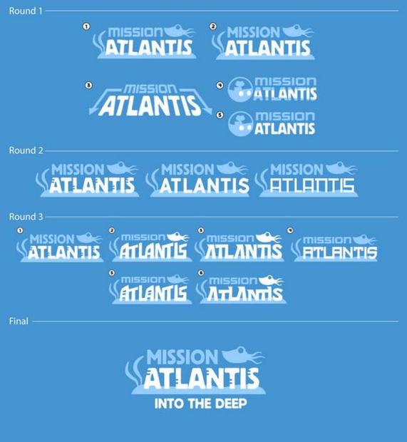mission atlantis logos