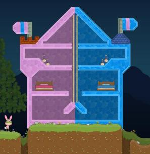 Nice Ghost's divided house