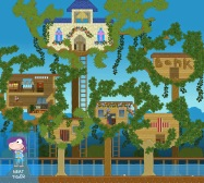 """""""From Neat Tiger, we can see why they needed to build this village above the flood plain. Looks like they've got everything up there!"""""""