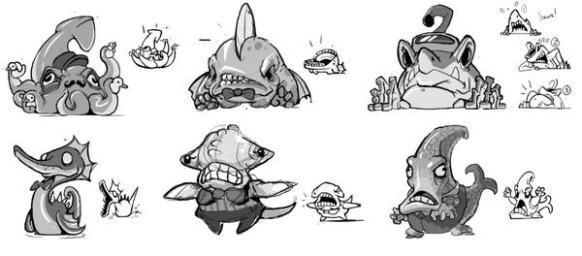 monster carnival concept art 2