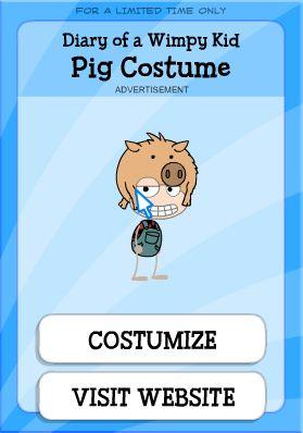 pig costume