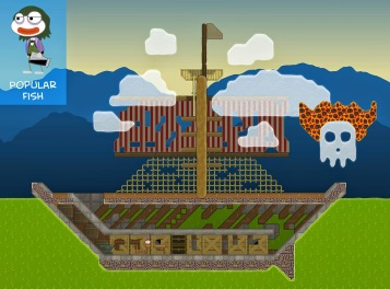 From Popular Fish, it's a ghost ship adrift on a sickly sea.