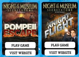 night museum games ad