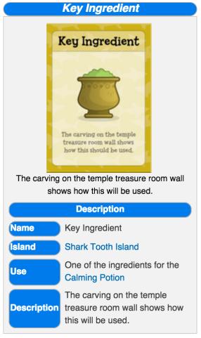 key ingredient wiki