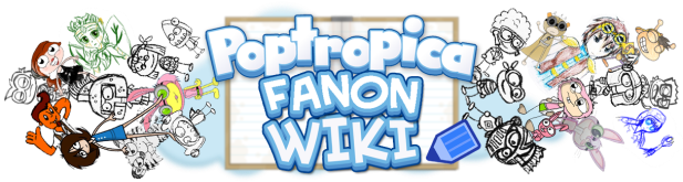 Poptropica Fanon Wiki Logo