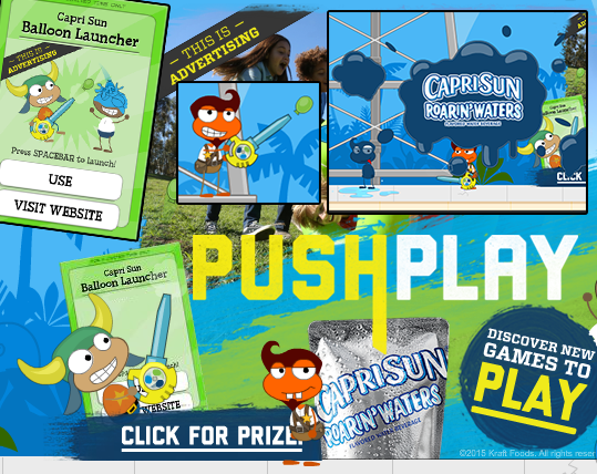 caprisun pushplay ad