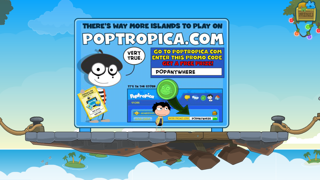 Poptropica frequently asked questions autos post for Firebox promotional code