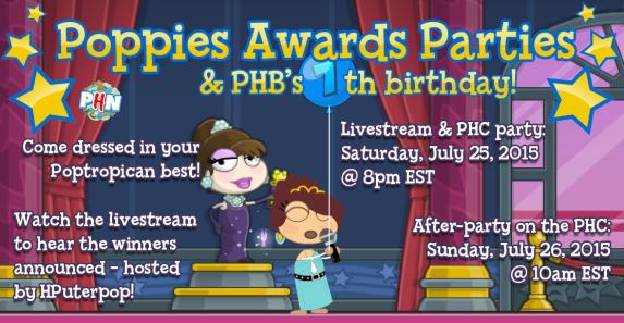 poppies parties