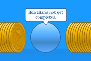 Hub-Island