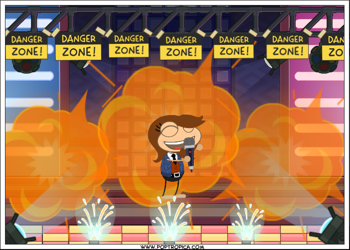 The Photo Booth allowed you to create your own pictures from Poptropica art assets.