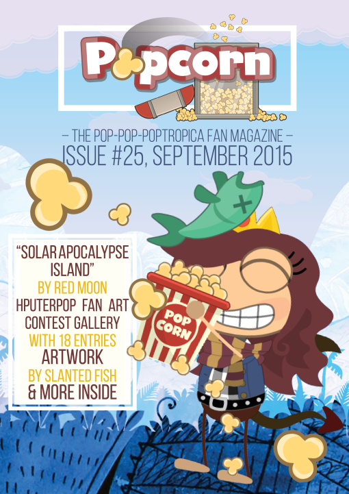 popcorn, cover 25