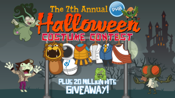 October- Halloween's here again; we held our Photo Booth and Costume Contest!
