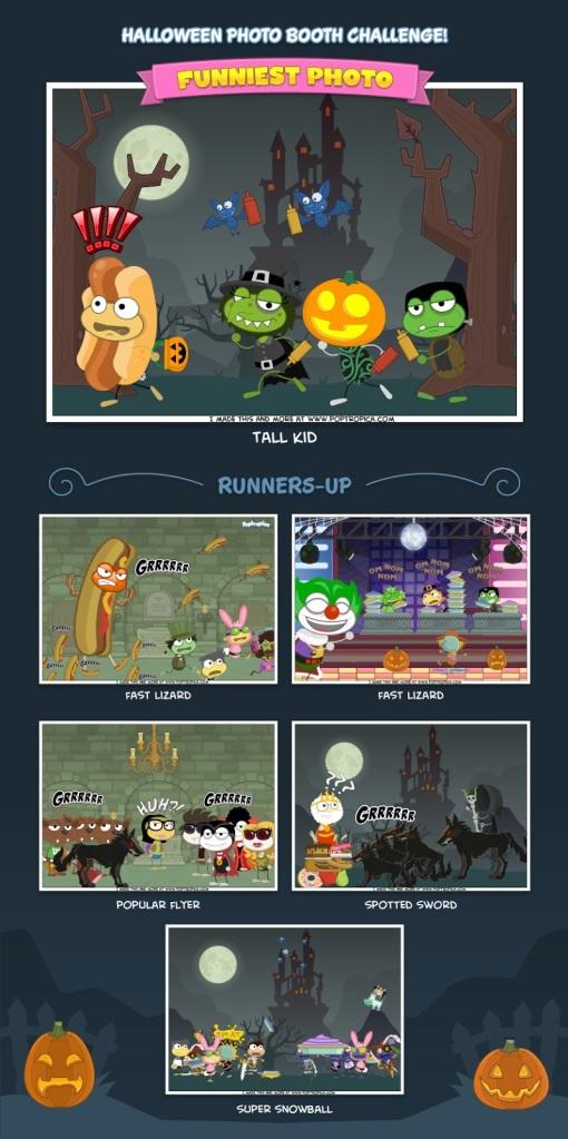 Funniest Photo - Halloween Photo Booth Challenge