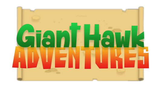 Giant Hawk Adventures Large Logo (with Scroll)