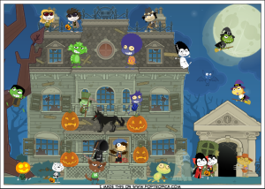 """Big Crush – """"Party Outside the Haunted House"""""""