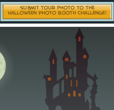halloween photo booth