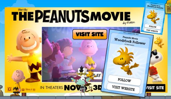 peanuts ad