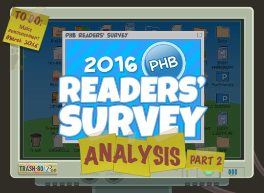 2016PHBReadersSurveyAnalysisPart2