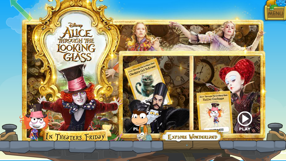 adventure pig through the looking glass poptropica help blog