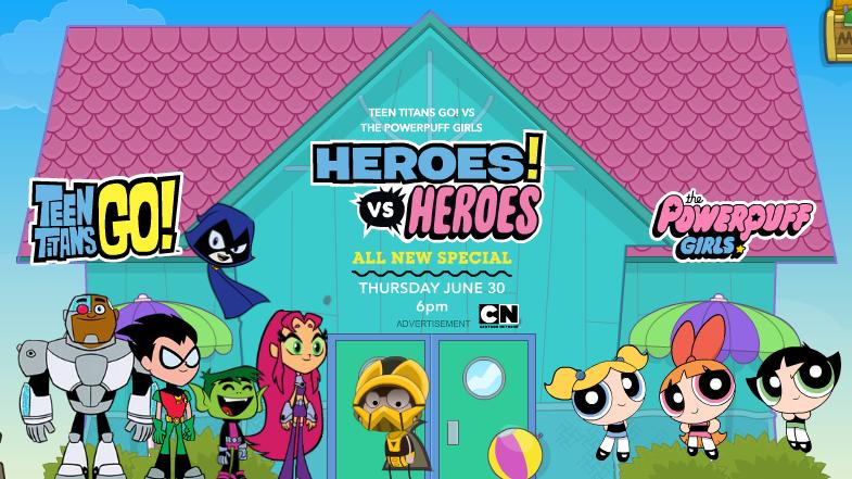 Poptropica Heroes! vs Heroes ad