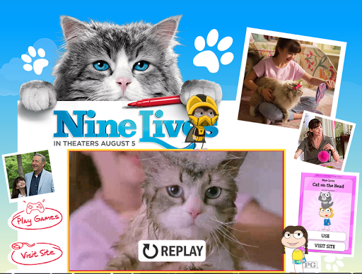 Poptropica nine lives ad
