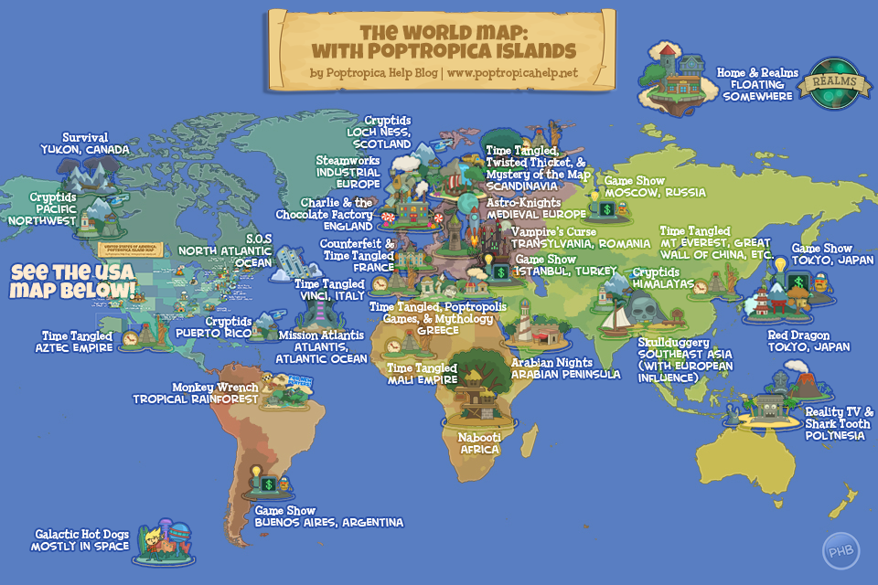 Phb special world geography with poptropica islands poptropica worldmap pop gumiabroncs Choice Image