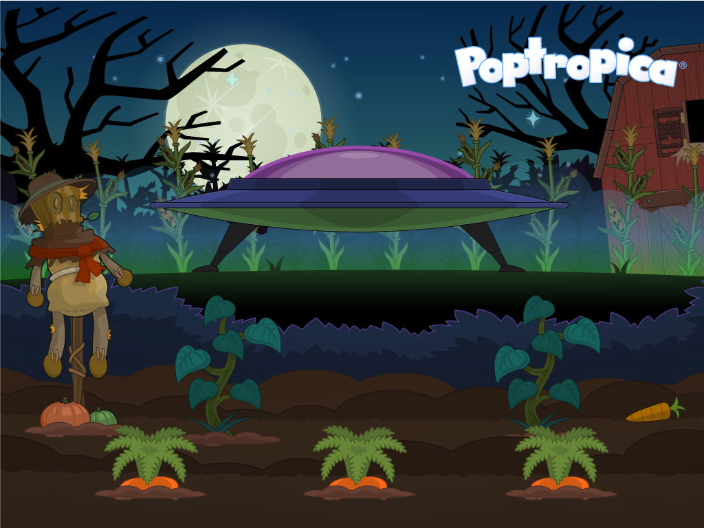 poptropica2bhalloween2bwallpaper