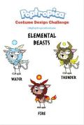 """Elemental Beasts"" by Red Paw"