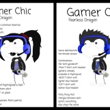 """Gamer Chic"" by Fearless Dragon"