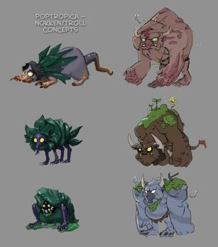 Nøkken/Troll Concepts