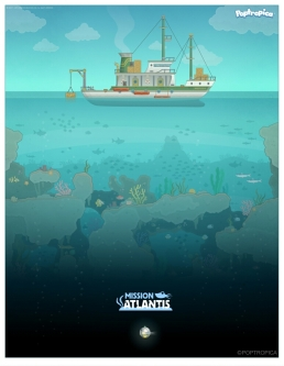 Mission Atlantis poster