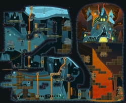 Mole Town, Crisis Caverns