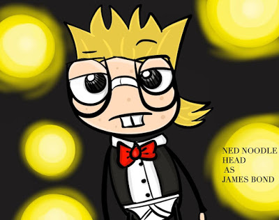 PoptropicaArt_Ned Noodlehead by Ally