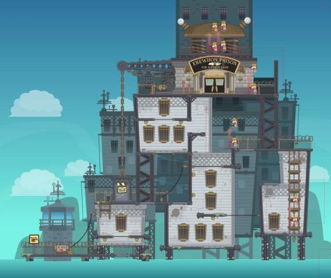Erewhon Prison Exterior, Super Villain Island