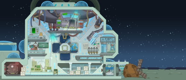 Lunar Laboratory, Lunar Colony Island