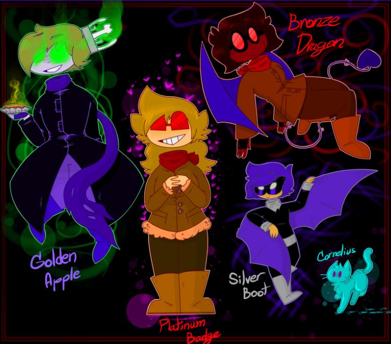 SuperFlameKitty aka Bronze Dragon - Poprocks The Villains