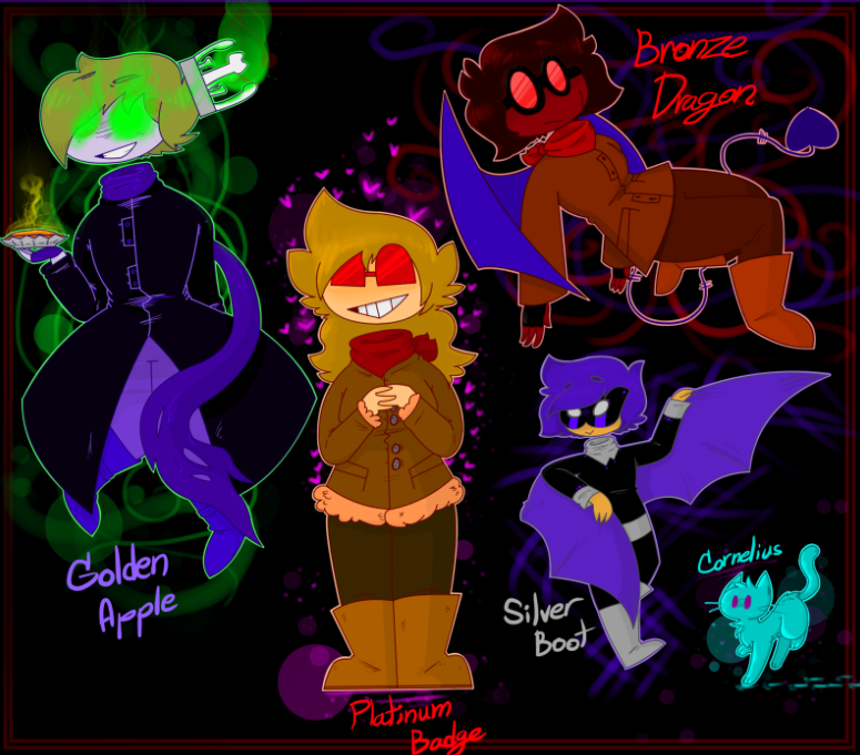 SuperFlameKitty aka Bronze Dragon - Poprocks The Villains