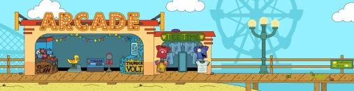 Wimpy Boardwalk arcade