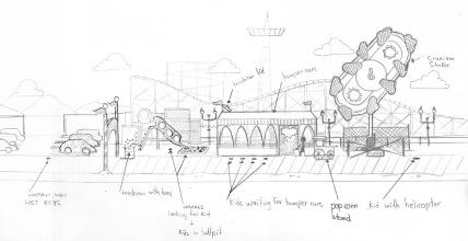 Wimpy Boardwalk early sketch