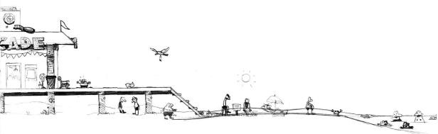 Wimpy Boardwalk sketch