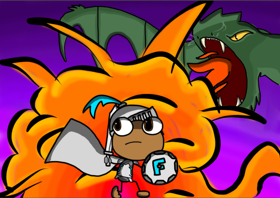 Fierce Flyer - Fierce Flyer and the Dragon