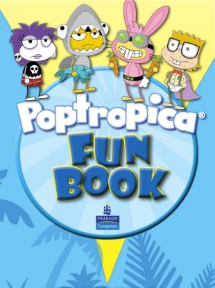 Poptropica Fun Book