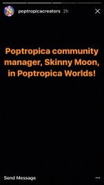 Poptropica Worlds Skinny Moon...