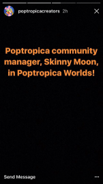 Poptropica Worlds Skinny Moon...