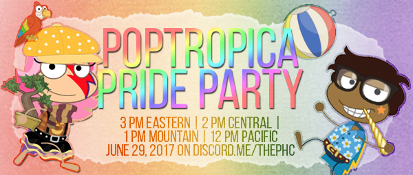 pop pride party
