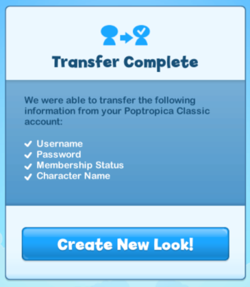 transfer pw