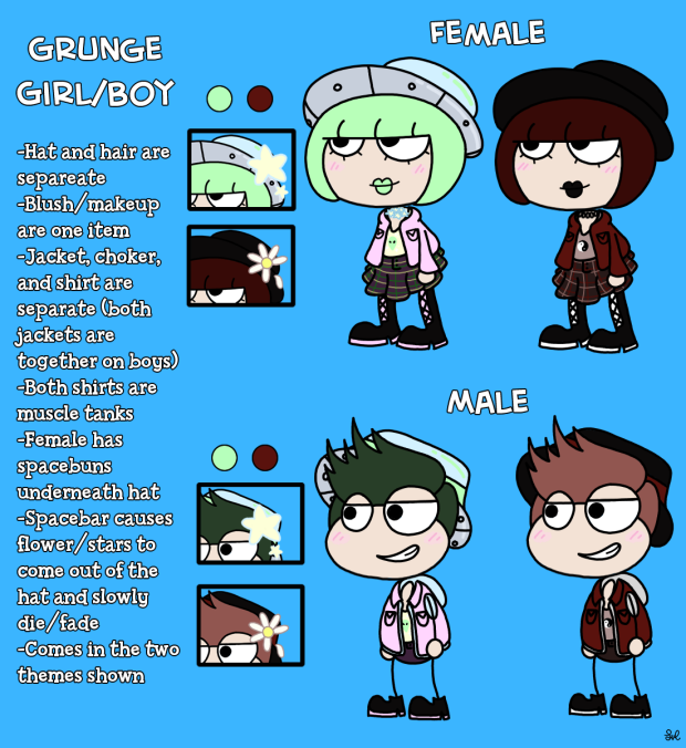 Artwork - Grunge Costume